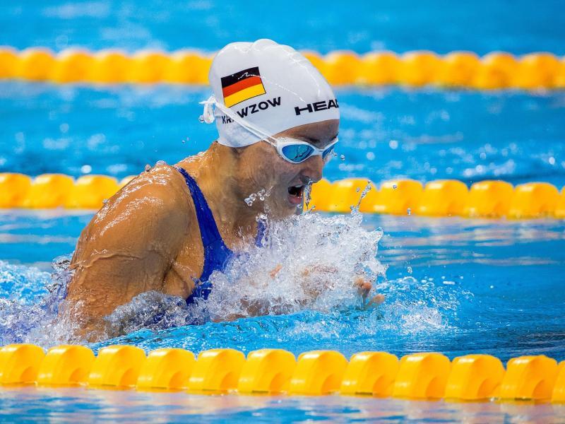 Stellte an einem Wochenende drei Weltrekorde auf: Para-Schwimmerin ElenaKrawzow