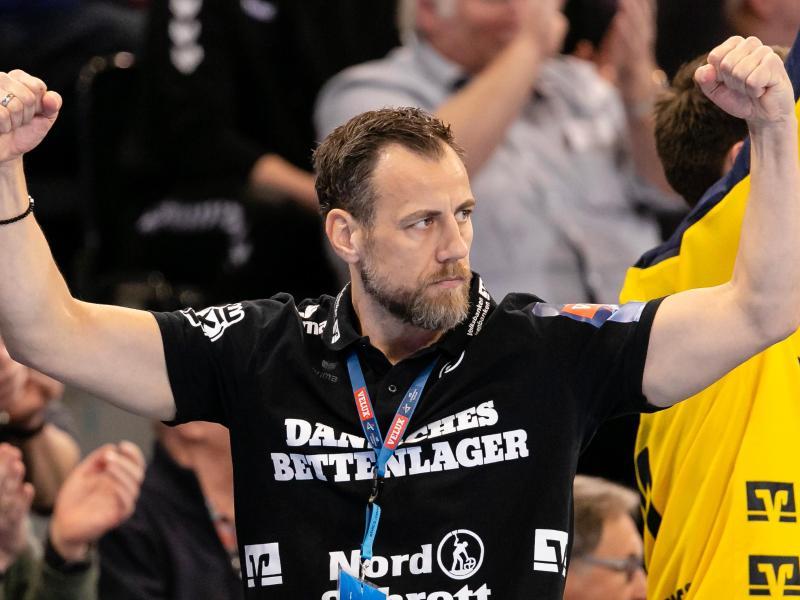 Flensburgs Trainer Maik Machulla hat seinen Vertrag beim deutschen Handball-Meister verlänger