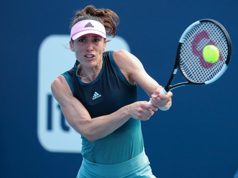 Andrea Petkovic eröffnet die Fed-Cup-Partie gegen Lettland