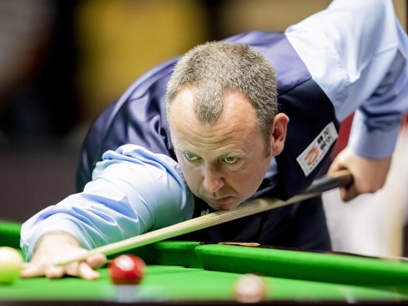 Der Waliser Mark Williams will seinen Snooker-WM-Titel erfolgreich verteidigen. Foto: Christoph Soeder