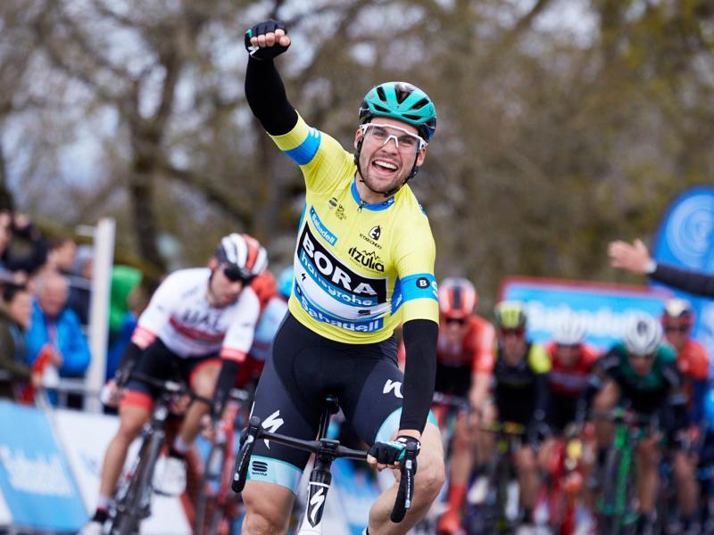Zählt zum erweiterten Kreis für die Tour de France: Maximilian Schachmann vom Team Bora-hansgrohe