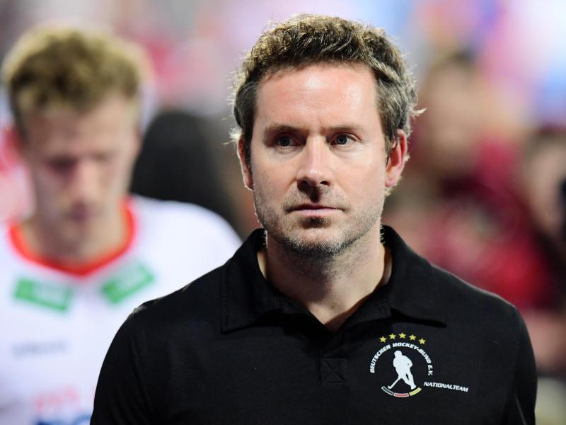 Trainer Stefan Kermas und die deutschen Hockey-Herren kassierten die zweite Niederlage im sechsten Ligaspiel