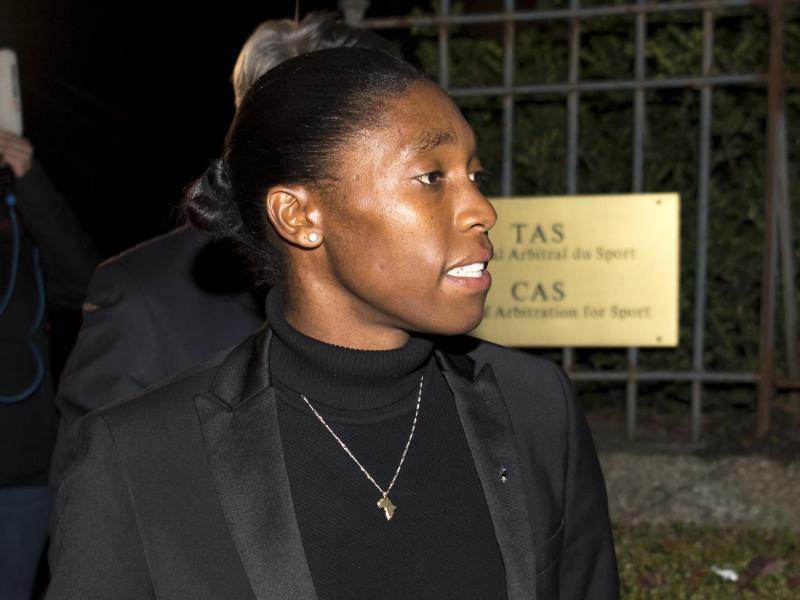 Caster Semenya vor dem CAS
