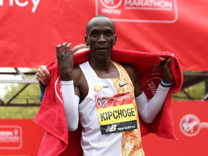 Eliud Kipchoge hält den Marathon-Weltrekord