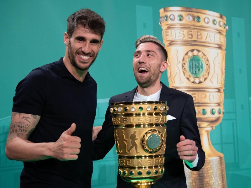 Wollen beide den Pott: Bayerns Javi Martinez und Leipzigs Kevin Kampl