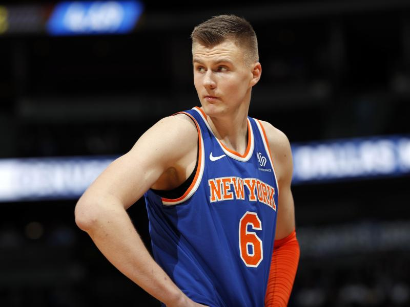 Hat Ärger an der Backe: Mavericks-Profi Kristaps Porzingis