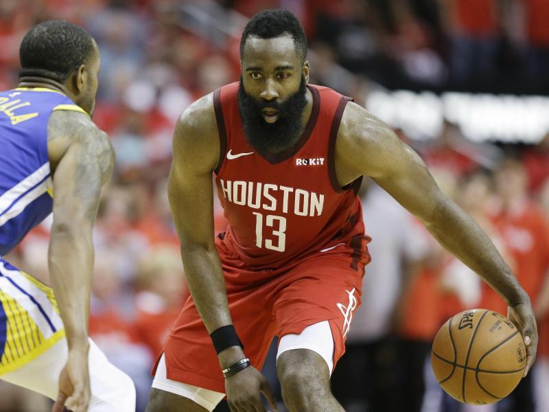 James Harden von den Houston Rockets spielte eine starke NBA-Saison