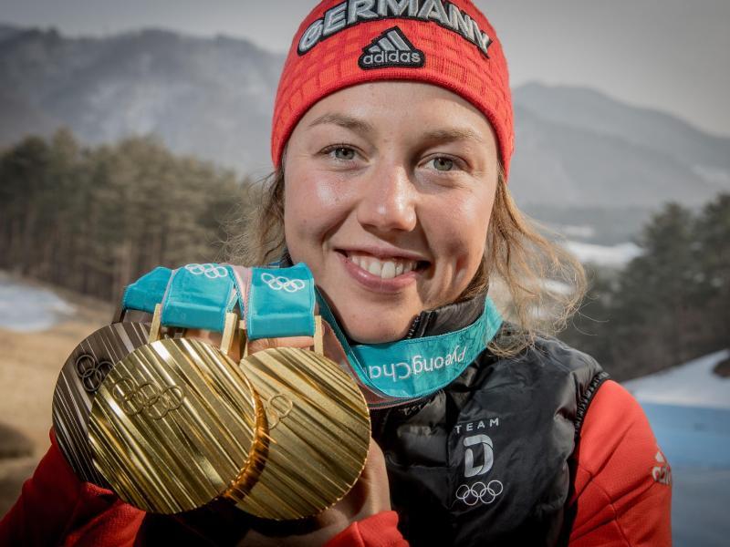 Hat schon Pläne für die Zeit nach der aktiven Karriere: Laura Dahlmeier