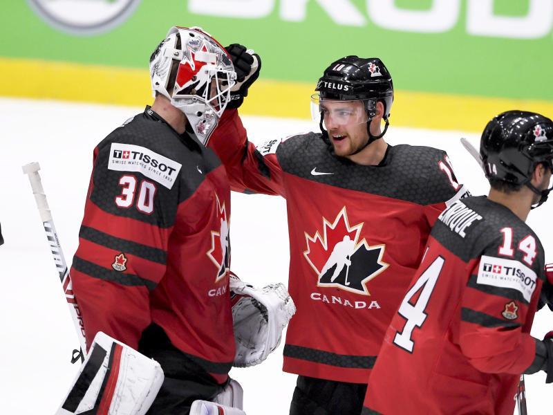 Die Kanadier greifen nach dem WM-Titel
