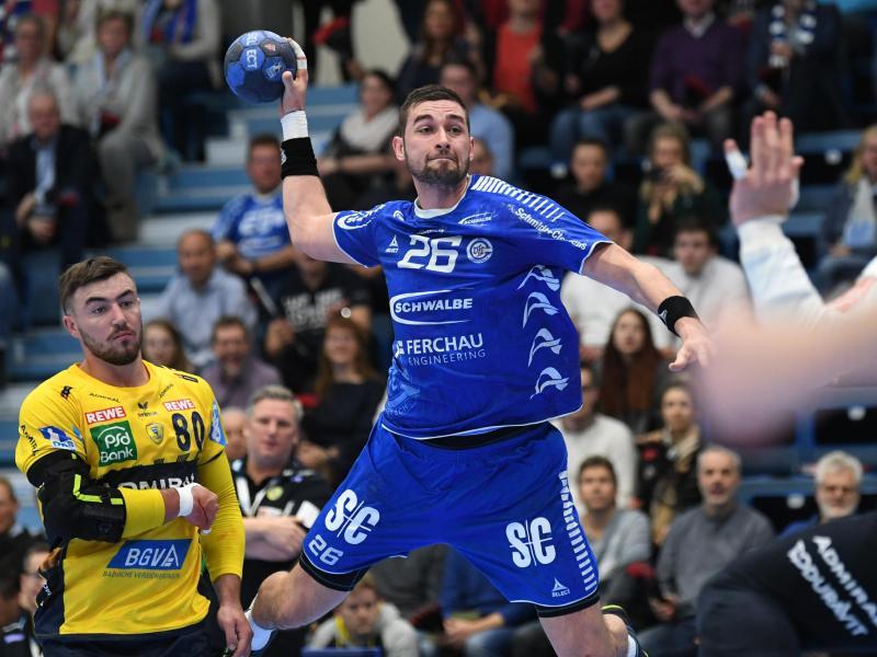 Stanislaw Schukow spielt in der Bundesliga für den VfL Gummersbach