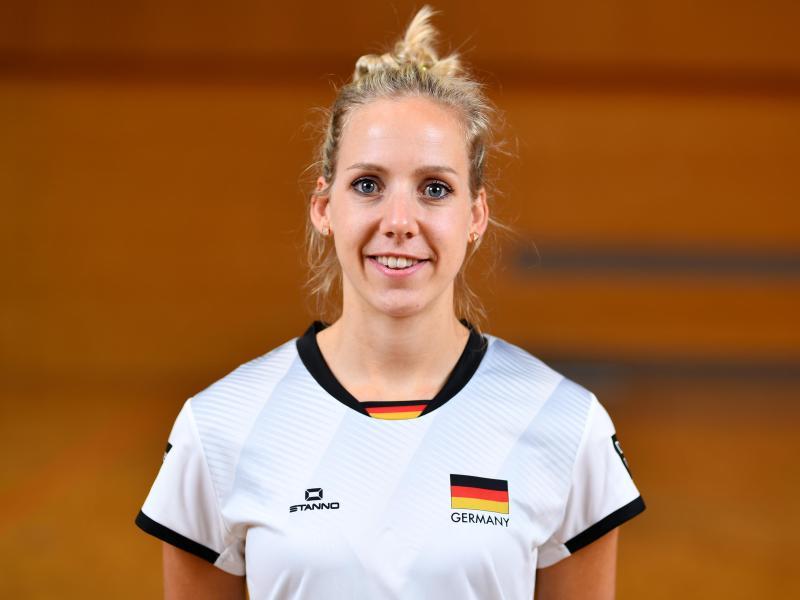 Volleyball-Nationalspielerin Jana-Franziska Poll steht nach der Panne mit ihrem Reisepass wieder im Kader