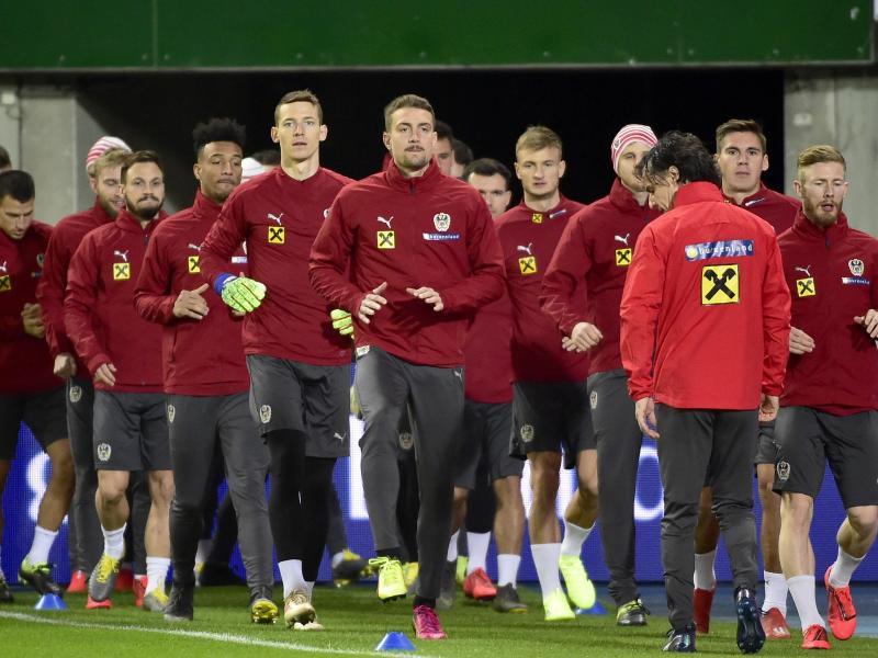 Schaffen es nicht eine Beziehung zu den eigenen Fans aufzubauen: Österreichs Fußball-Nationalmannschaft