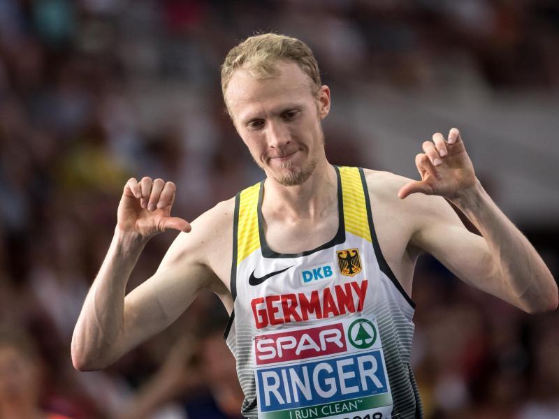 Richard Ringer ist neuer deutscher 10.000-Meter-Meister