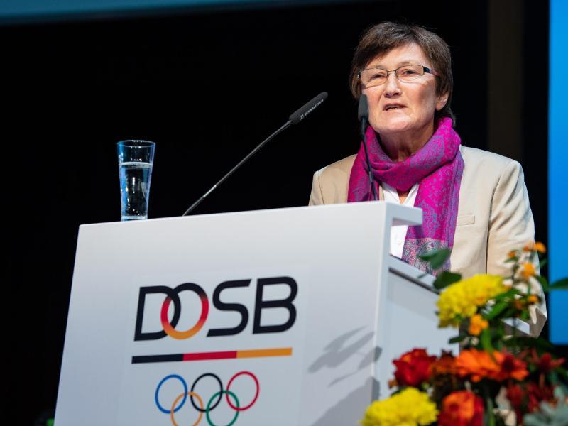 Uschi Schmitz ist für die Europaspiele 2019 in Minsk Chef de Mission des deutschen Teams