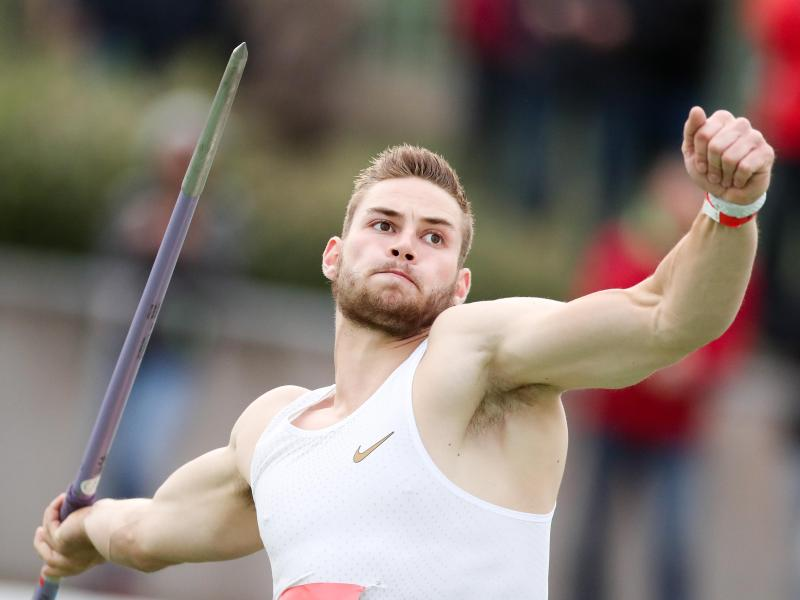 Speerwurf-Weltmeister Johannes Vetter hat sich wieder verletzt. Foto: Jan Woitas