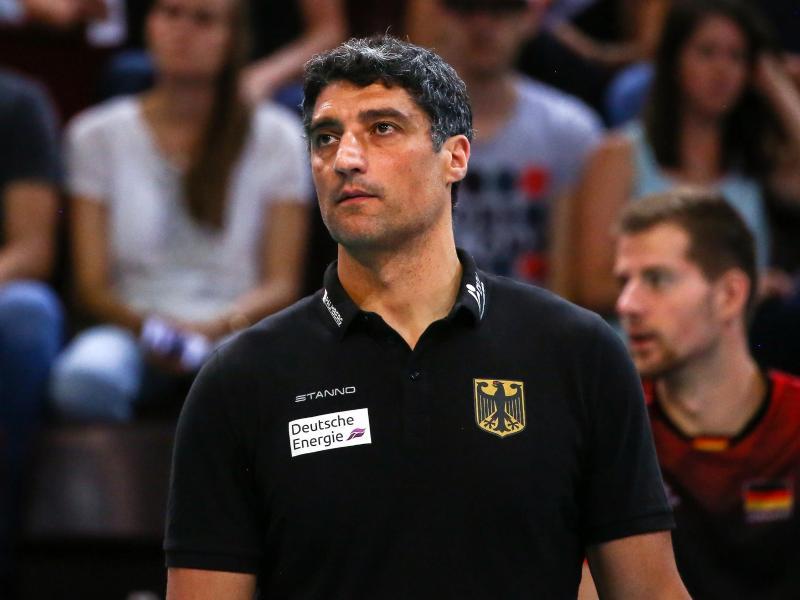 Volleyball-Nationaltrainer Andrea Giani unterlag mit seiner Mannschaft den USAmit 1:3