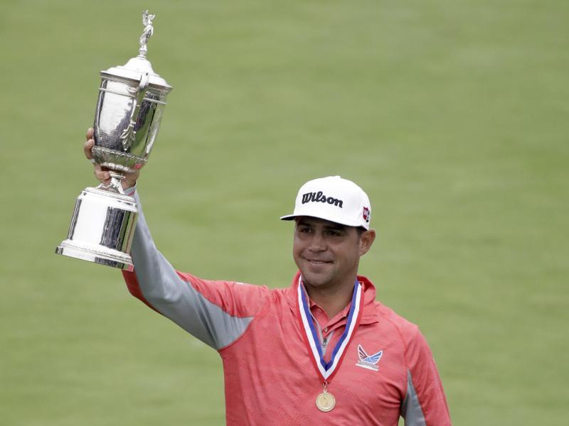 Gary Woodland siegte bei den 119. US Open