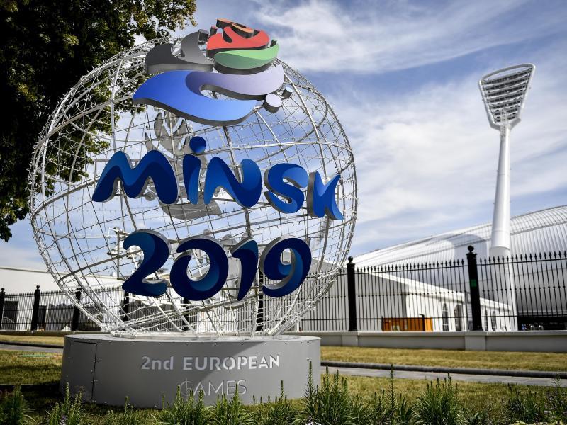 Die European Games in Minsk sehen sich großer Kritik ausgesetzt