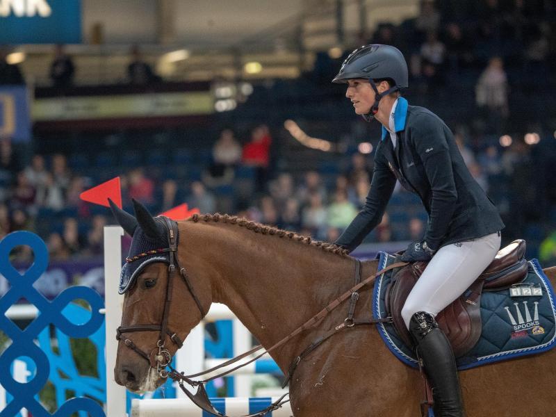 Simone Blum auf ihrem Pferd Alice