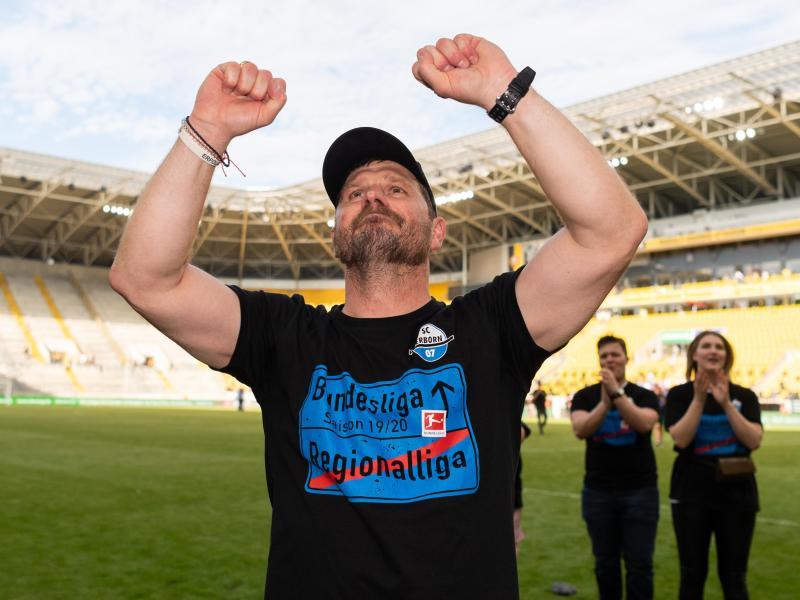 Will mit Paderborn auch die Bundesliga aufmischen: SC-Coach SteffenBaumgart