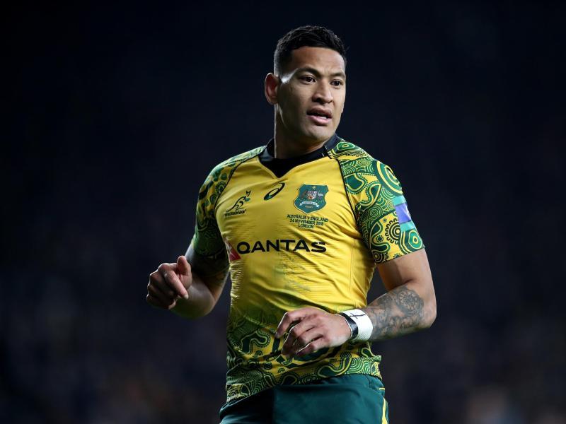 Der Rugby-Star Israel Folau wurde aus der Nationalmannschaft Australiens geworfen, weil er in sozialen Netzwerken gegen Homosexualität agitiert hatte