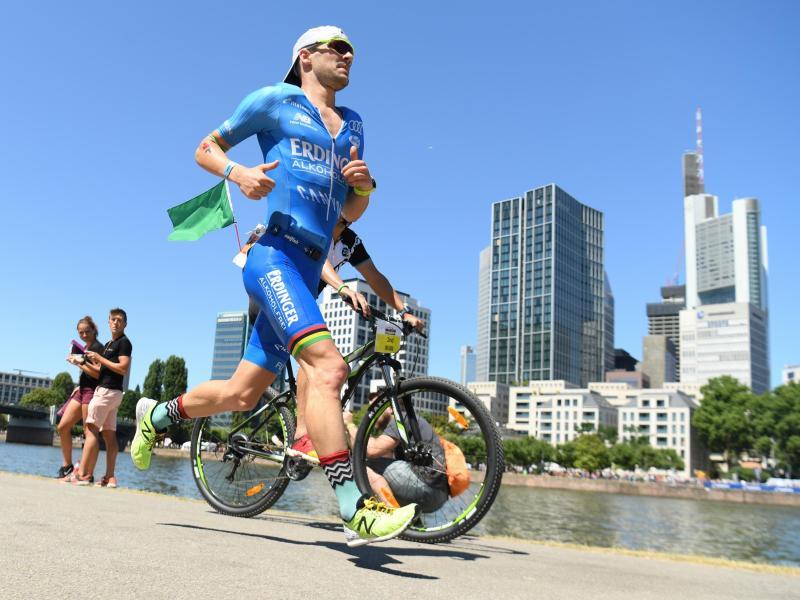 Beim Heimspiel in Frankfurt gefordert: Ironman-Sieger Patrick Lange