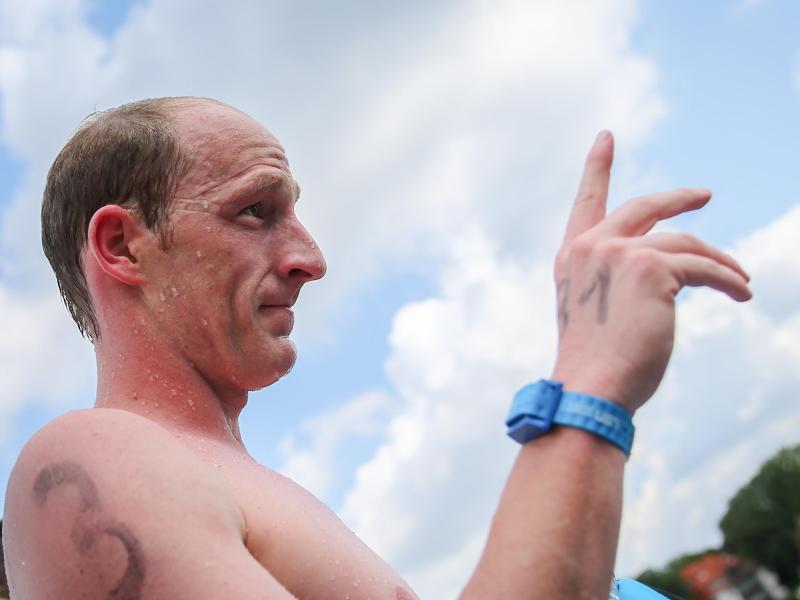 Optimistisch: Langstreckenschwimmer Thomas Lurz