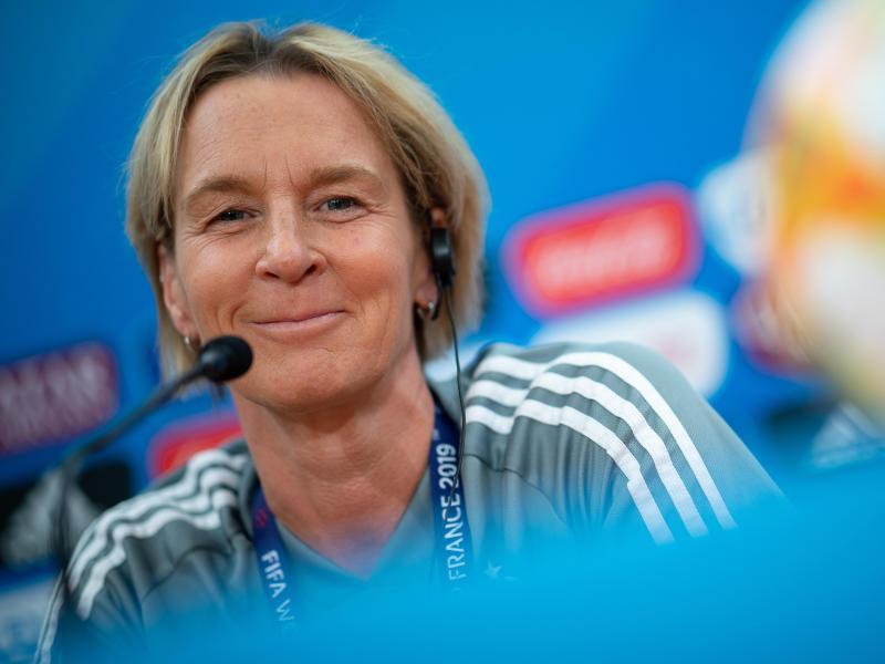 Trifft sich mit der Bundeskanzlerin zum Kaffeetrinken: Martina Voss-Tecklenburg