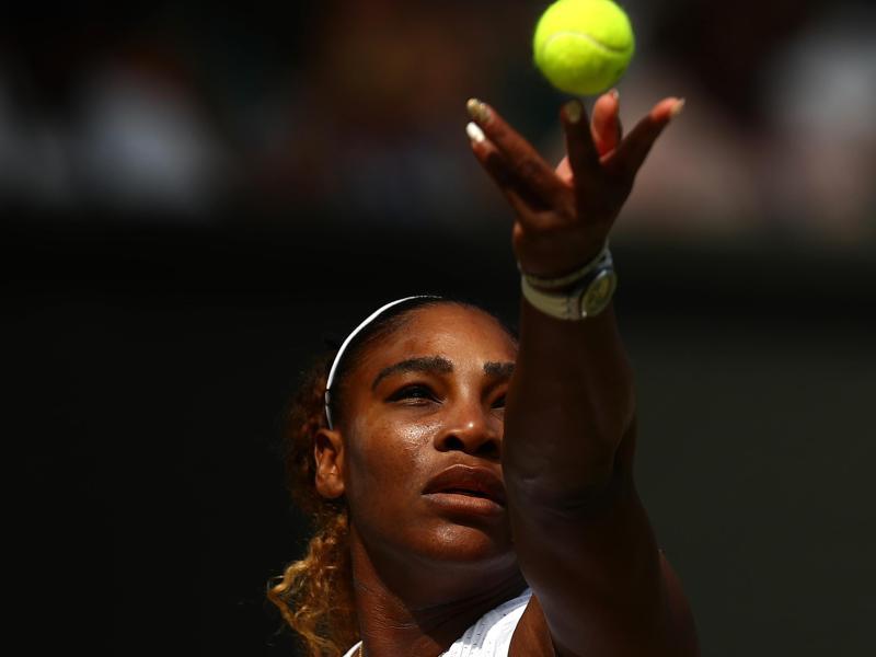 Serena Williams steht in Wmbledon vor ihrem nächsten Rekord