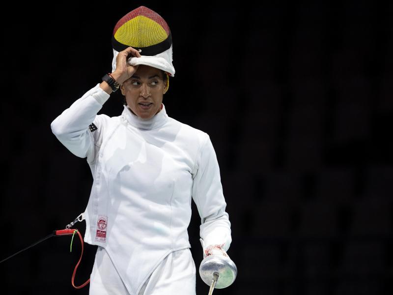 Hat als einzige deutsche Degenfechterin die Hauptrunde der WM erreicht: Alexandra Ndolo