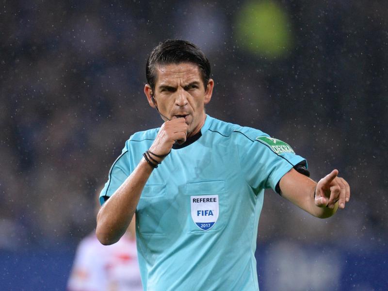 Deniz Aytekin wurde vergangene Woche vom DFB als Schiedsrichter des Jahres ausgezeichnet