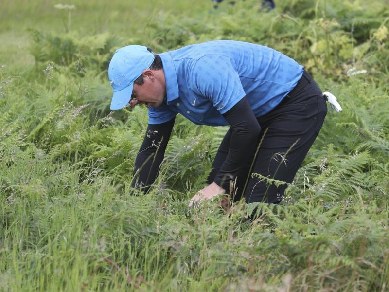 Rory McIlroy blamierte sich bei den British Open