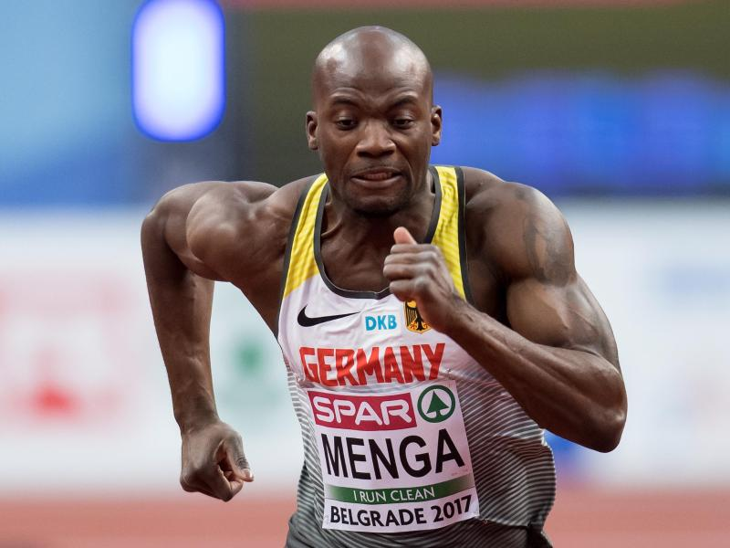Wegen Achillessehnenproblemen ist die Saison für Deutschlands besten Sprinter von 2018 beendet: Aleixo-Platini Menga