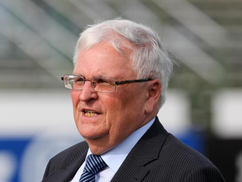 Ein Freund des Frauenfußballs: Der ehemalige Präsident des DFB Theo Zwanziger