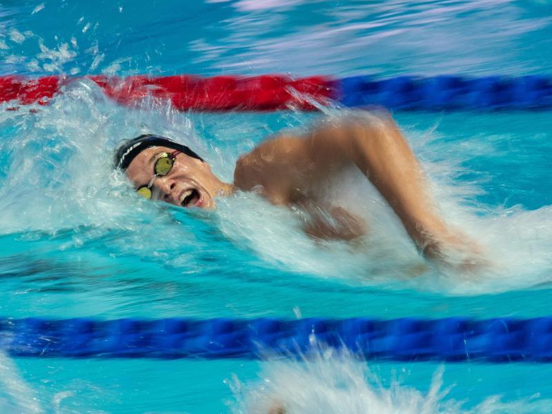 Jacob Heidtmann konnte sich nicht für das Halbfinale über 200 Meter Freistil qualifizieren