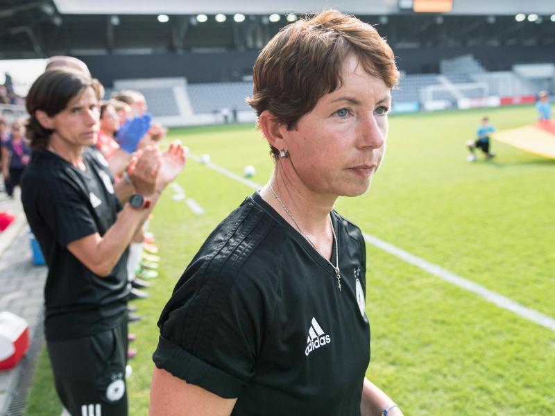 Steht mit Deutschlands U19-Frauen im EM-Finale:Trainerin Maren Meinert