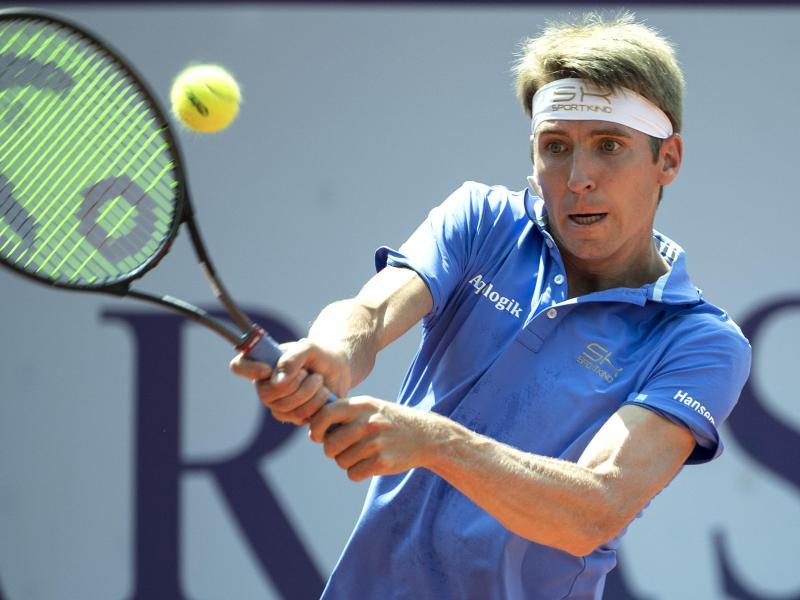 Hat in Gstaad überraschend das Finale erreicht: Cedrik-Marcel Stebe
