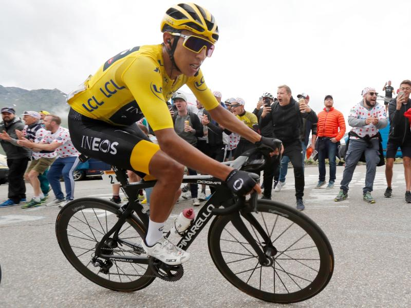 Mit gerade einmal 22 Jahren ist Bernal der jüngste Tour-de-France-Sieger seit dem Zweiten Weltkrieg