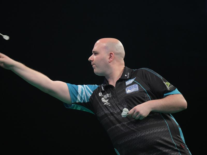 Wirft in Blackpool um den Sieg: Rob Cross