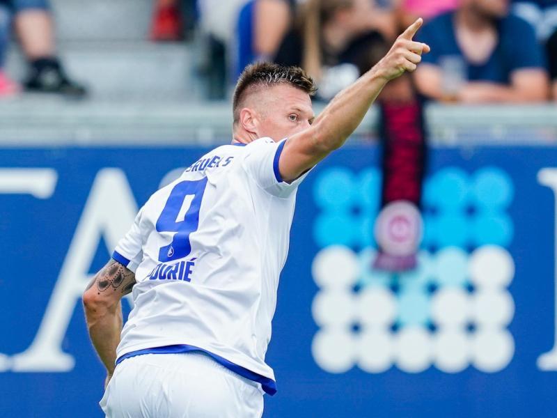 Marvin Pourie erzielte Karlsruhes Führungstreffer