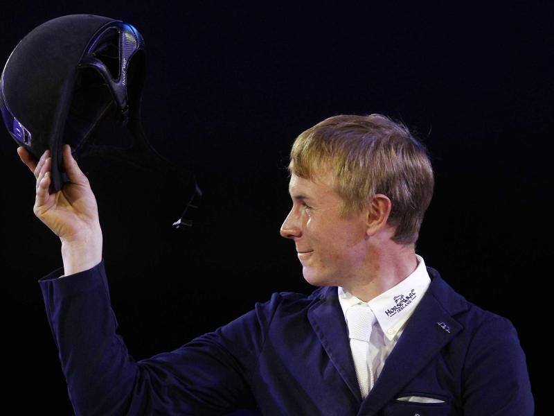David Will hat überraschend den Großen Preis in Hickstead gewonnen