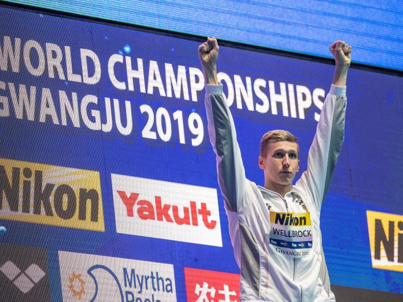 Florian Wellbrock ist der neue deutsche Schwimm-Star