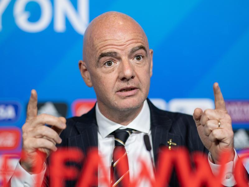 Gianni Infantino ist der Präsident der FIFA. Foto: Sebastian Gollnow