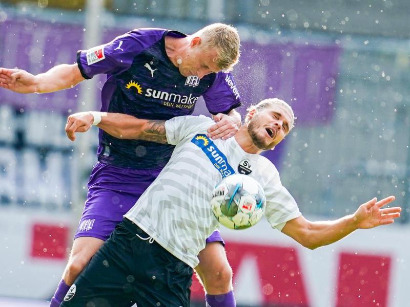 Der VfL Onsabrück gewann in Sandhausen und feierte den ersten Saisonsieg