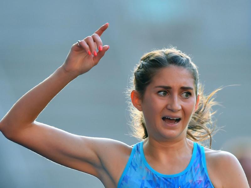 Gesa Krause ist zum fünften Mal hintereinander deutsche Meisterin über 3000 Meter Hindernis geworden