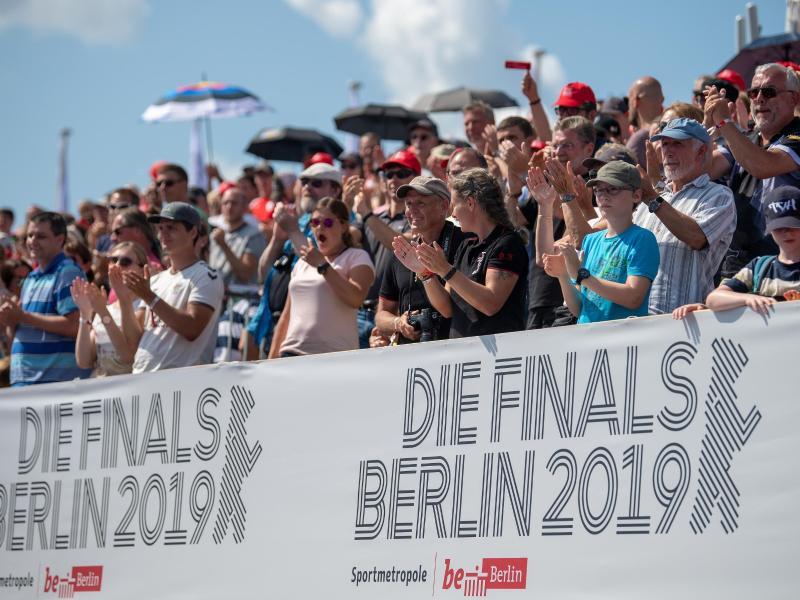 Große Resonanz: Die Finals 2019 lockten zahlreiche Zuschauer zu den Sportstätten in Berlin