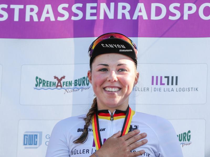 Sicherte sich in Alkmaar ihre dritte EM-Medaille: Lisa Klein