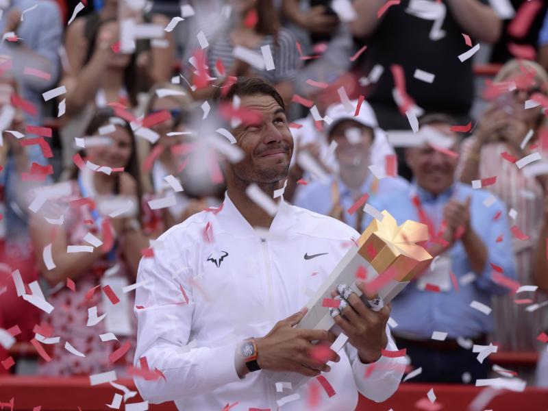 Rafael Nadal siegte im Finale von Monetreal