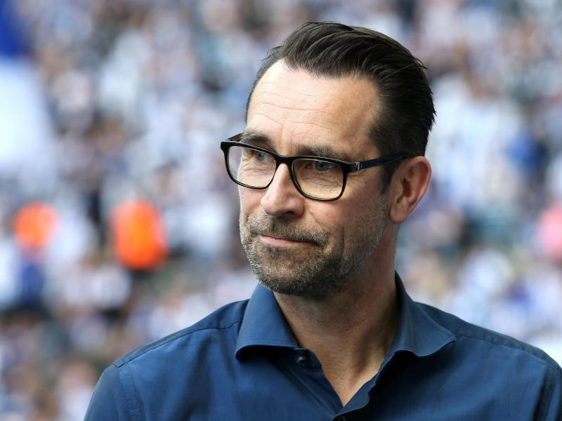 Schaut dem Bundesliga-Start beim FCBayern optimistisch entgegen: Hertha-Manager Michael Preetz