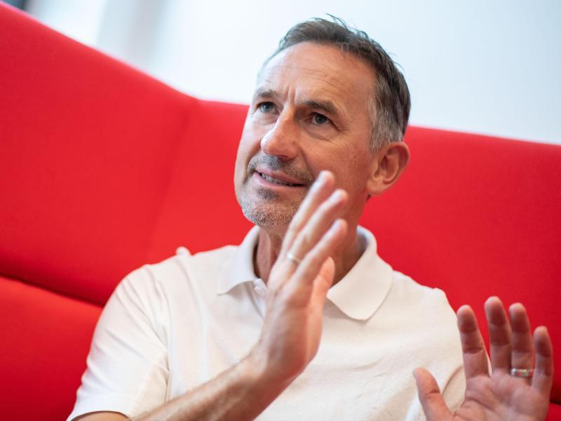 Achim Beierlorzer will mit dem 1. FC Köln Großes erreichen